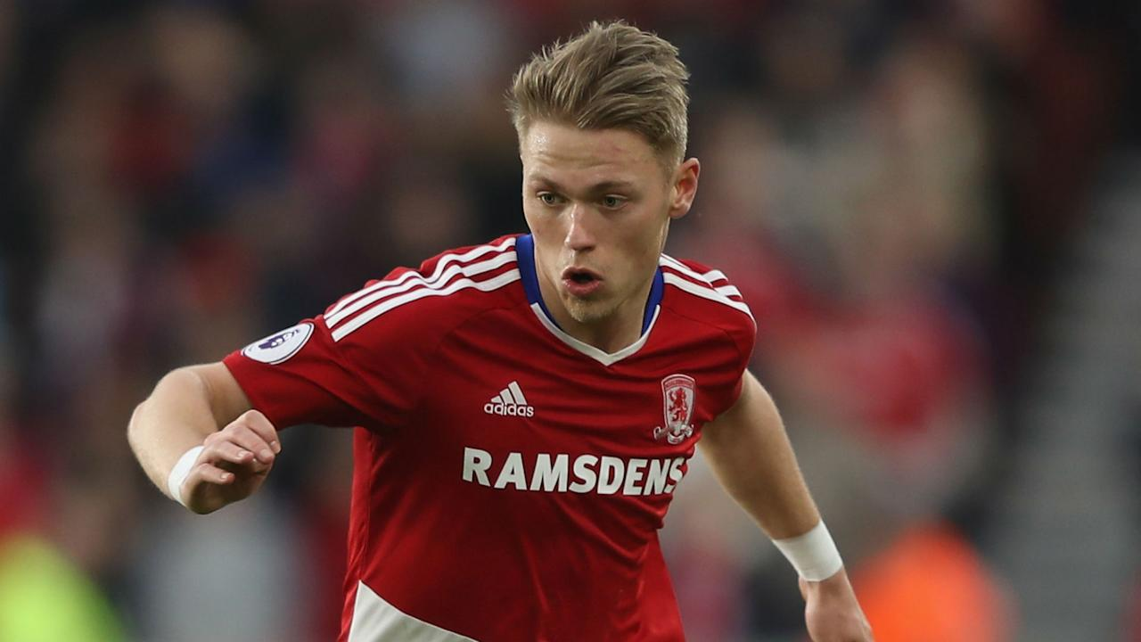 The Denmark international moves to the Bundesliga side on a four-year deal after making just six starts in the Premier League