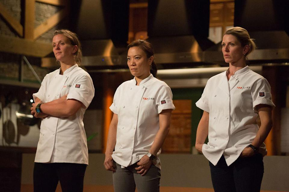 <p>Shirley Chung competed in not one, but two seasons of <em>Top Chef.</em> After getting to the final round in season 11, Shirley returned for season 14 in Charleston, where she was the runner-up. </p>