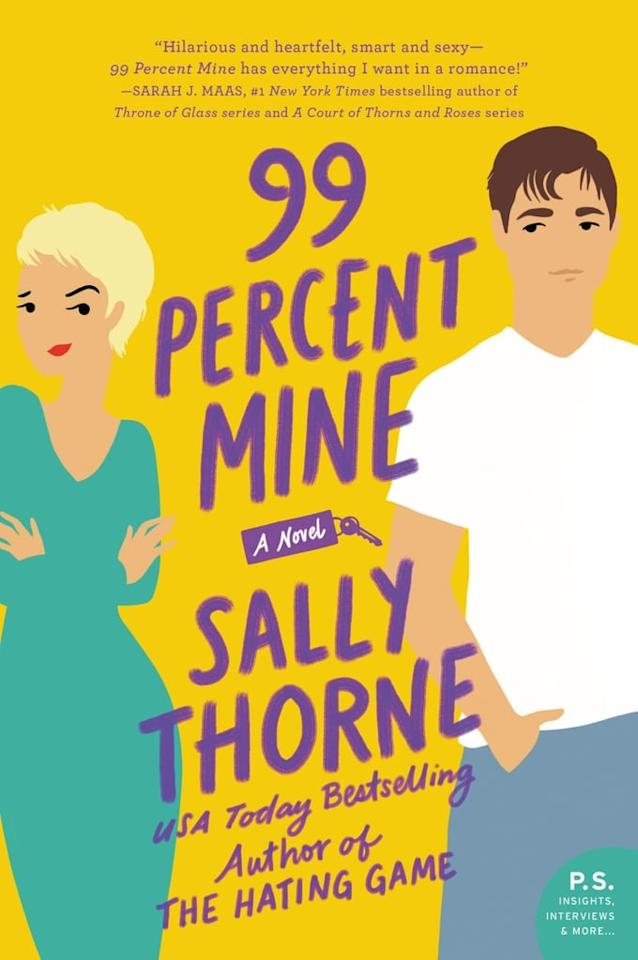 "<p><strong>The Hating Game</strong> author Sally Thorne is at it again with <strong><a href=""https://www.popsugar.com/buy?url=http%3A%2F%2Fwww.amazon.com%2F99-Percent-Mine-Sally-Thorne-ebook%2Fdp%2FB075WXBG13&amp;url_pos=body-url&amp;p_name=99%20Percent%20Mine&amp;retailer=amazon.com&amp;evar1=tres%3Aus&amp;evar3=article%3Agallery-slide&amp;evar9=45793609&amp;evar98=https%3A%2F%2Fwww.popsugar.com%2Flove%2Fphoto-gallery%2F45793609%2Fimage%2F45793610%2F99-Percent-Mine&amp;list1=books%2Csexy%2Cbest%20of%202019%2Csexy%20entertainment%2Csexy%20books&amp;prop13=desktop&amp;page_name=tres%3Aus%3Aarticle%3Asexiest-books-2019-45793609&amp;pdata=19202751"" rel=""nofollow"" data-shoppable-link=""1"" target=""_blank"" class=""ga-track"" data-ga-category=""Related"" data-ga-label=""https://www.popsugar.com/buy?url=http%3A%2F%2Fwww.amazon.com%2F99-Percent-Mine-Sally-Thorne-ebook%2Fdp%2FB075WXBG13&amp;url_pos=body-url&amp;p_name=99%20Percent%20Mine&amp;retailer=amazon.com&amp;evar1=tres%3Aus&amp;evar3=article%3Agallery-slide&amp;evar9=45793609&amp;evar98=https%3A%2F%2Fwww.popsugar.com%2Flove%2Fphoto-gallery%2F45793609%2Fimage%2F45793610%2F99-Percent-Mine&amp;list1=books%2Csexy%2Cbest%20of%202019%2Csexy%20entertainment%2Csexy%20books&amp;prop13=desktop&amp;page_name=tres%3Aus%3Aarticle%3Asexiest-books-2019-45793609&amp;pdata=19202751"" data-ga-action=""In-Line Links"">99 Percent Mine</a></strong>. The story follows a woman who will stop at nothing to win the heart of a sexy house-flipper as he helps her restore her grandmother's old cottage, even though something major stands in her way: her twin brother, who is best friends with her crush and unwilling to relinquish him. Believe us when we say this book is even hotter than an episode of <strong>Property Brothers</strong>.</p>"