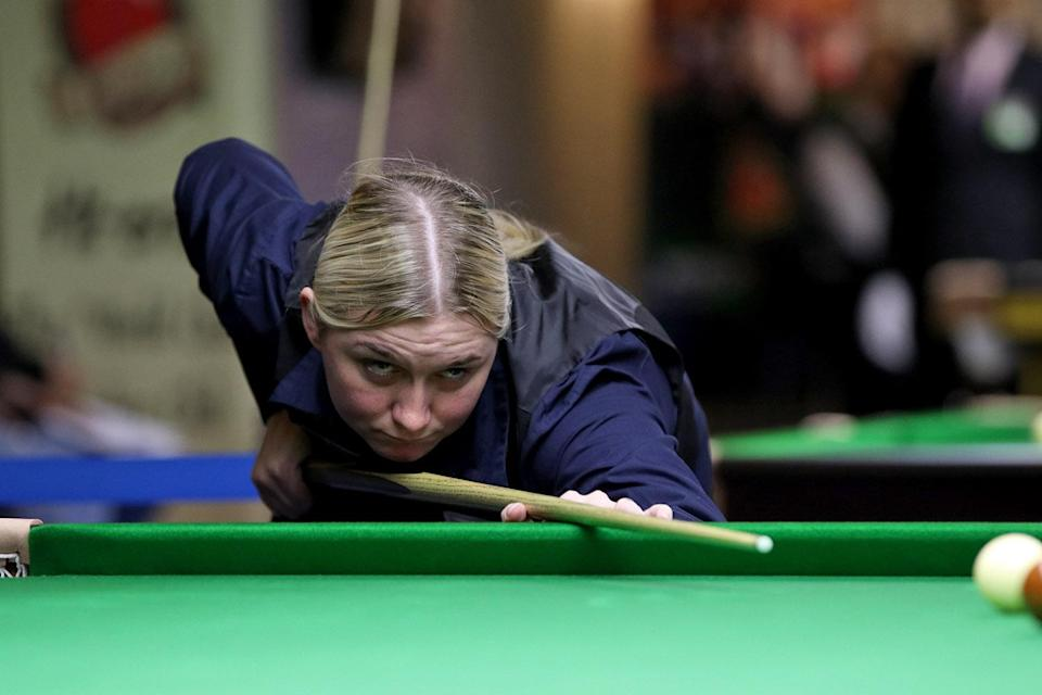 Rebecca Kenna is a three-time women's world semi-finalist (Matt Huart/WPBSA)