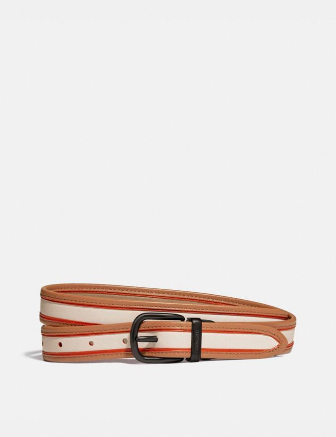Harness Buckle Reversible Belt, 25mm - Coach, $70 (originally $175)