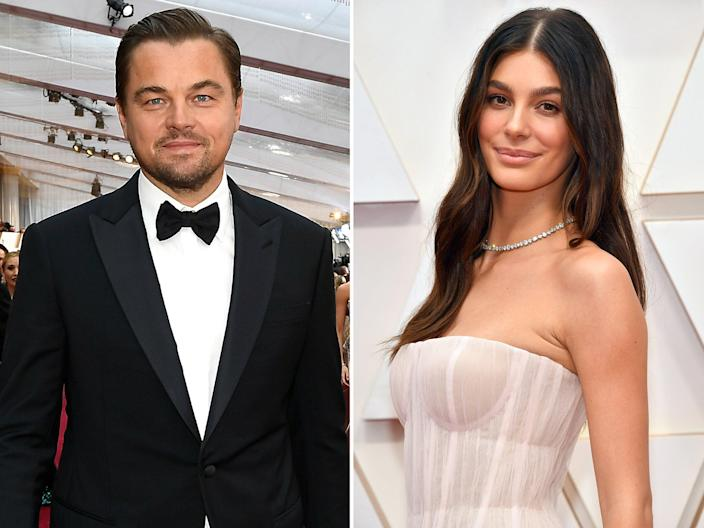 Leonardo DiCaprio and Camila Morrone attended the 92nd Academy Awards together. (Photo: Getty Images)