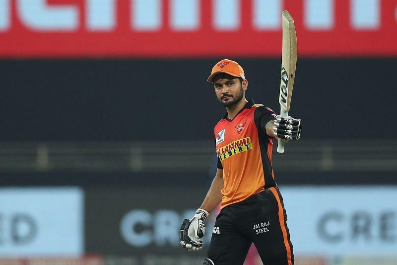 Manish Pandey stood up for SRH when it was most crucially needed. [PC: iplt20.com]