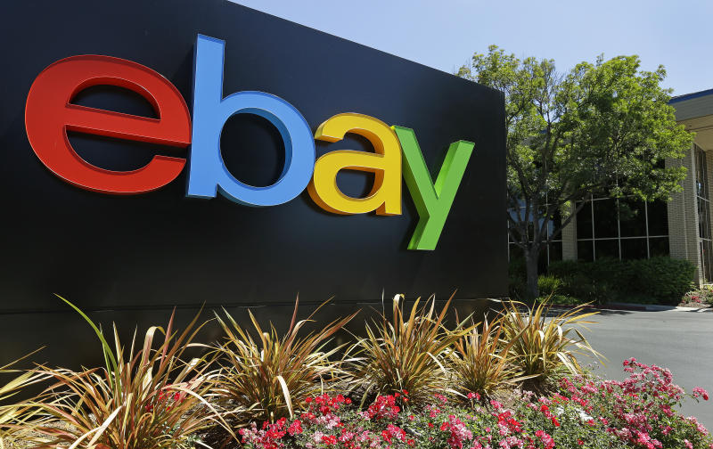 EBay 2Q profit slides; Europe remains weak spot