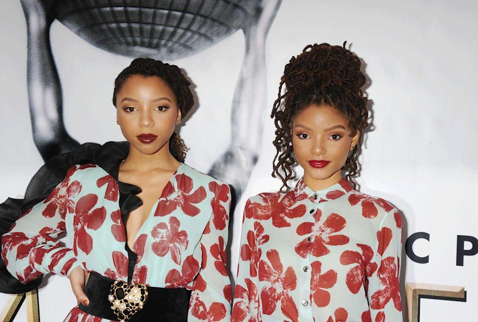 """<p>""""The new big thing in the braid world are <a href=""""https://www.instagram.com/p/CIZgCOQplTG/"""" rel=""""nofollow noopener"""" target=""""_blank"""" data-ylk=""""slk:butterfly locs"""" class=""""link rapid-noclick-resp"""">butterfly locs</a>,"""" says Porsche, who is known for her braided styles.""""These locs are similar to faux locs, but the difference is, instead of using straight braiding hair to wrap around the braid, you would use curly braiding hair and wrap them in a looser form to give the loc a more textured look."""" While singer <strong>Halle Bailey</strong> is sporting real locs here, butterfly locs have a similar curly vibe</p>"""