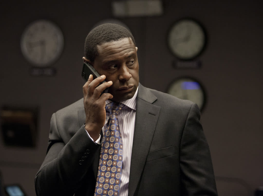 "David Harewood as David Estes in the ""Homeland"" Season 2 episode, ""Q&A."""