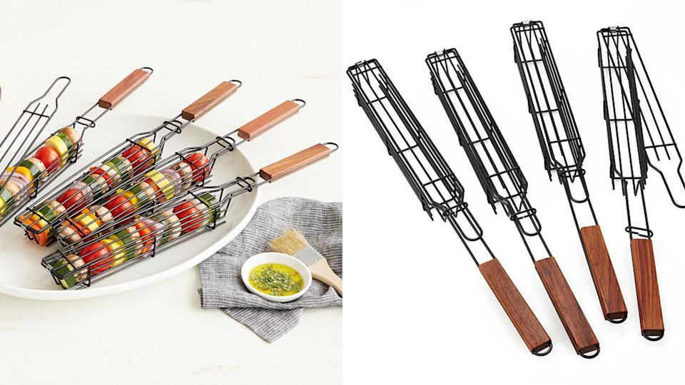 Best gifts for grandpa: Kabob baskets