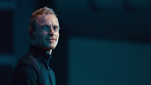 <p> Studio bosses were not content to give Apple mogul Steve Jobs just one movie outing. Two versions of the computer genius have been made within the past two years; the panned version starring Ashton Kutcher and this stunning adaptation starring Michael Fassbender. If there's any confusion about which one you should be watching, director Danny Boyle's version had Oscar nominations for Best Actor and Supporting Actress. Enough said. </p>