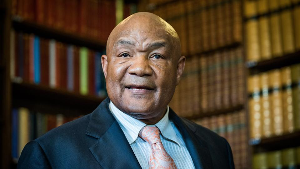 George Foreman George Foreman at the Oxford Union, Britain - 24 May 2016Former World Heavyweight champion boxer and Olympic Gold medalist, also known fo rhis promotion of the George Foreman grill, which has sold over 100 million units worldwide.