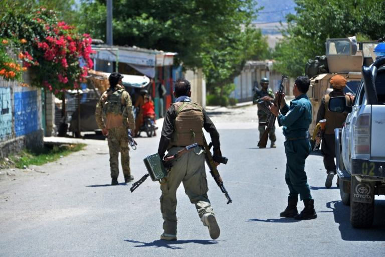Fierce fighting erupted on the edge of Mihtarlam, a city of around 140,000 people