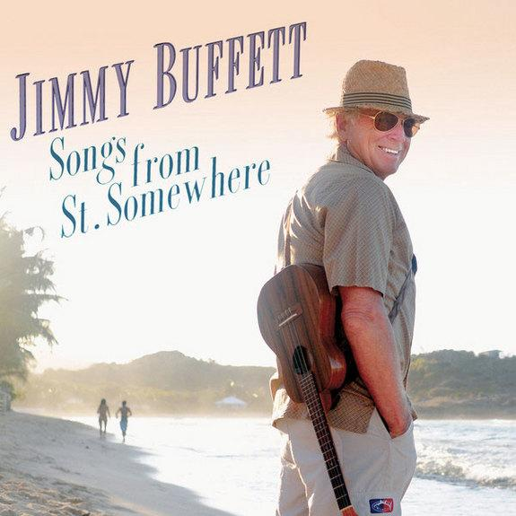 """Cover art for Jimmy Buffett's album """"Songs from St. Somewhere"""" as released on Aug. 20, 2013."""