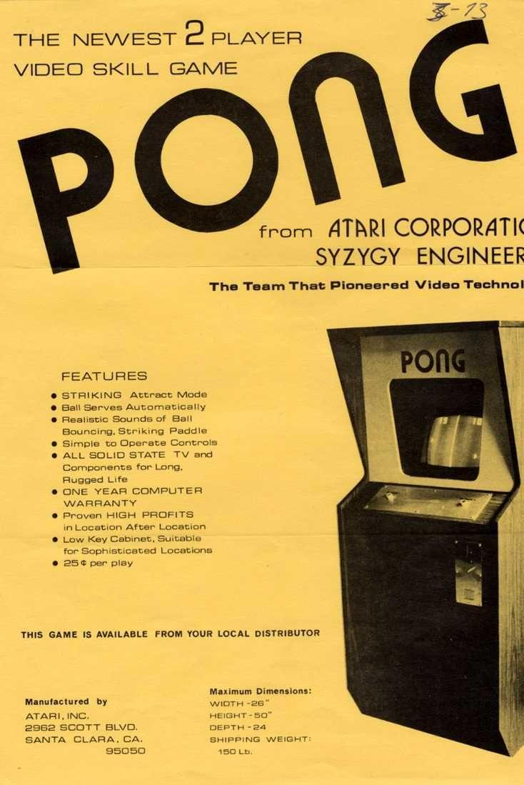 "<p>When Atari released the arcade version of <em>Pong</em> in 1972, it marked the beginning of something big. Before <em>Pong</em>, there'd been small games, mostly written in BASIC, but nothing that compared to the popularity of <em>Pong</em>. it wasn't until this game that people thought of electronic games as something you could sell to the average person. In 1975, Atari would release an in-home version of <em>Pong</em>, forever cementing its legendary status in video game history. </p><p><a class=""link rapid-noclick-resp"" href=""https://www.amazon.com/Atari-Classic-Games-One-Jewel-Case/dp/B000BC3AHW/?tag=syn-yahoo-20&ascsubtag=%5Bartid%7C10054.g.2871%5Bsrc%7Cyahoo-us"" rel=""nofollow noopener"" target=""_blank"" data-ylk=""slk:PLAY NOW"">PLAY NOW</a></p>"