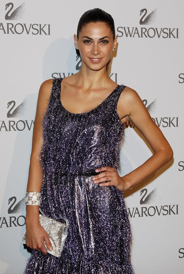 MILAN, ITALY - JUNE 07: Melissa Satta attends the Swarovski Fashionation at Palazzo Reale on June 7, 2011 in Milan, Italy. (Photo by Vittorio Zunino Celotto/Getty Images)