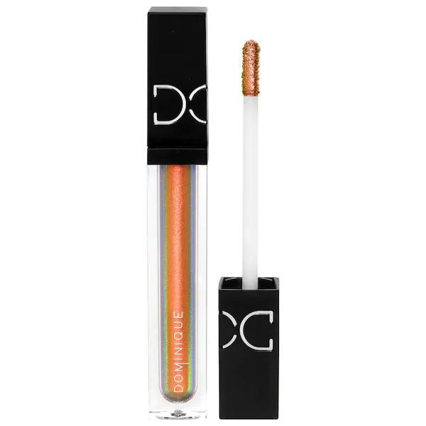 <p>The golden and orangey tones of this <span>Dominique Cosmetics Beautiful Mess Liquid Eyeshadow in Pretty Wild</span> ($20) can add a sparkling highlight to a sunset-inspired smoky eye.</p>
