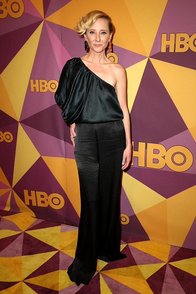 <p>Anne Heche attends HBO's after-party at Circa 55 restaurant. (Photo: Frederick M. Brown/Getty Images) </p>
