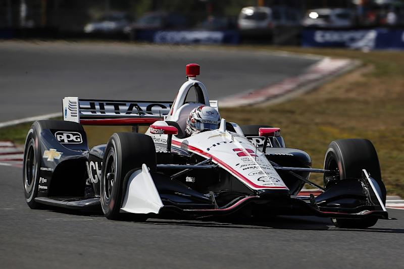Double points makes Newgarden lead uncomfortable
