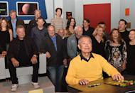 George Takei (right) and William Shatner (left), who played Hikaru Sulu and Captain Kirk respectively in the original Star Trek, during a photocall to launch Destination Star Trek Europe at The NEC in Birmingham.