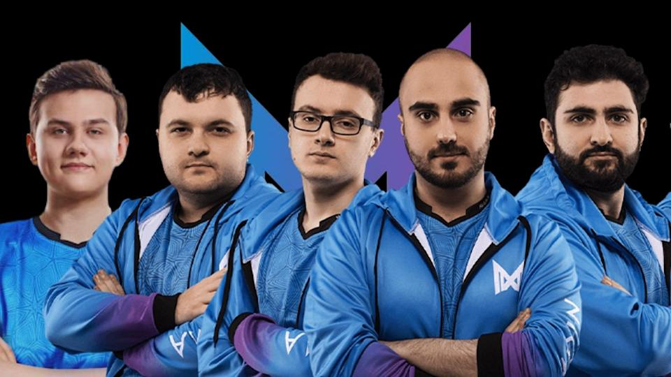 Team Nigma's roster for Season 2 of the 2021 Dota Pro Circuit (from left to right): Igor