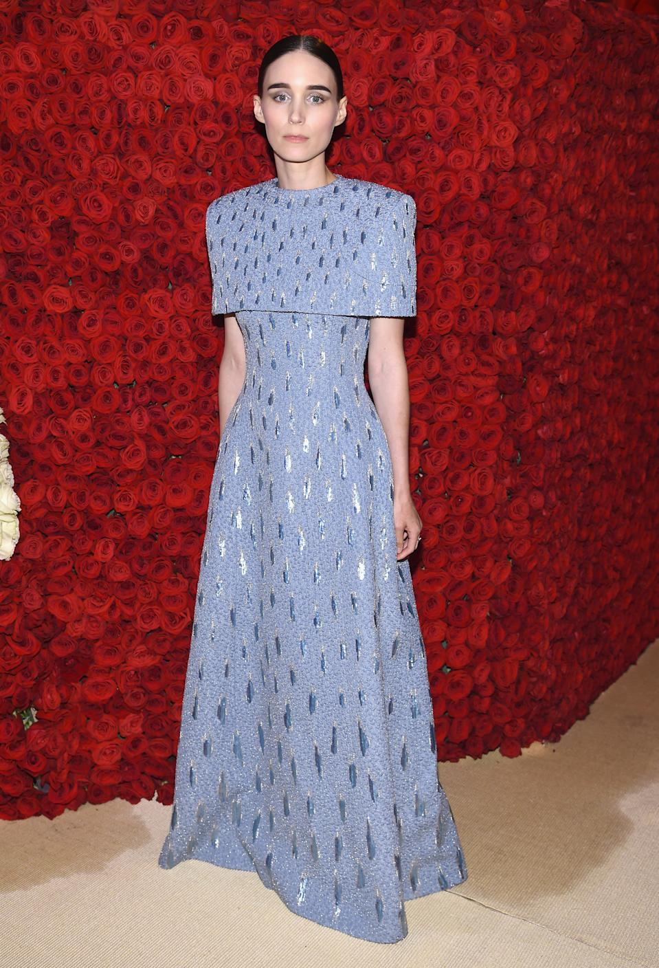 """<h1 class=""""title"""">Rooney Mara in Givenchy Haute Couture and Fred Leighton jewelry</h1><cite class=""""credit"""">Photo: Getty Images</cite>"""