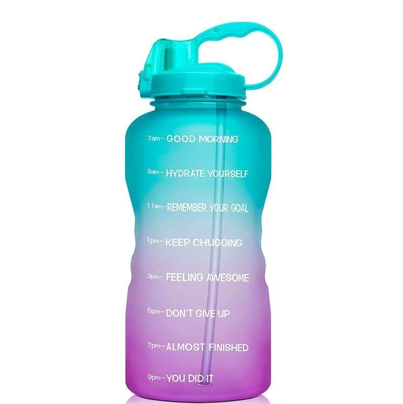 """Bless the wellness enthusiast with this gallon water bottle that will help keep them hydrated and glowing. $22, Amazon. <a href=""""https://www.amazon.com/Venture-Pal-Motivational-Leakproof-Sports-Green/dp/B083FK2QD5/ref=sr_1_6"""" rel=""""nofollow noopener"""" target=""""_blank"""" data-ylk=""""slk:Get it now!"""" class=""""link rapid-noclick-resp"""">Get it now!</a>"""