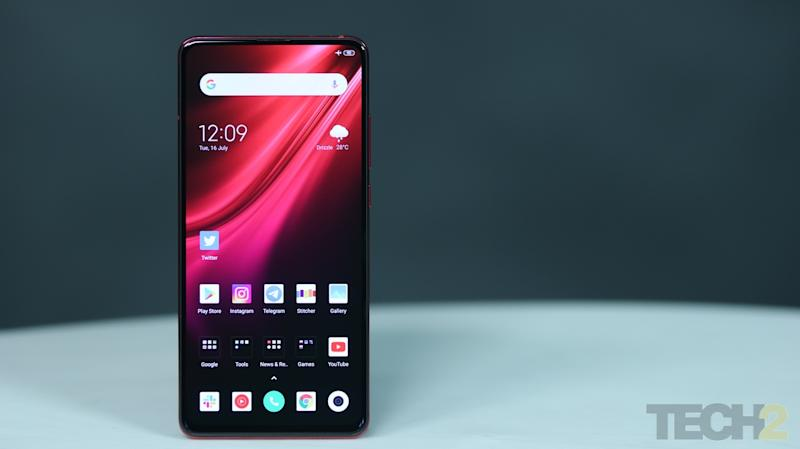 Redmi K20 Pro comes with a 6.4-inch Super AMOLED display