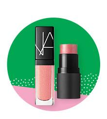 NARS Orgasm multiple & lip gloss (Credit: Ulta)