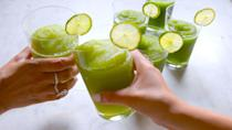 """<p>Bet you thought mojitos couldn't get more refreshing.</p><p>Get the recipe from <a href=""""https://www.delish.com/cooking/recipe-ideas/recipes/a47677/mojito-slushies-recipe/"""" rel=""""nofollow noopener"""" target=""""_blank"""" data-ylk=""""slk:Delish"""" class=""""link rapid-noclick-resp"""">Delish</a>. </p>"""