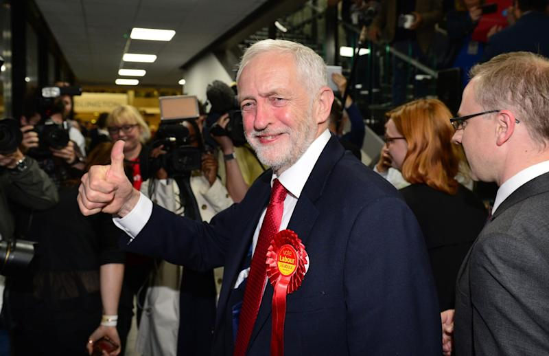 Jeremy Corbyn's Labour party has defied expectations (PA Images)