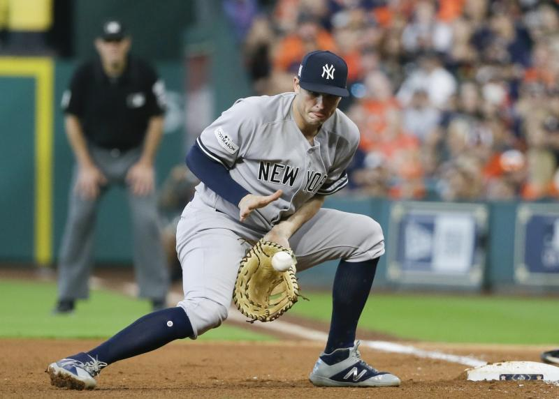 Greg Bird Activated After Surgery on Ankle Injury; Ronald Torreyes Demoted
