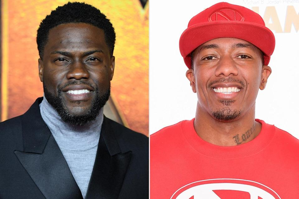 Kevin Hart, Nick Cannon