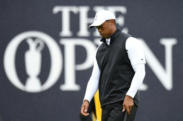Woods is set to miss the British Open cut for only the third time (AFP Photo/Glyn KIRK)