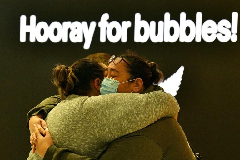 in Australia and New Zealand, there was joy and celebration as a long-awaited quarantine-free travel bubble opened