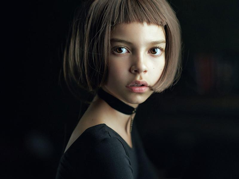 <div>'Mathilda', a portrait of a young girl inspired by the film Leon, was selected as the best single photograph in the competition. (Alexander Vinogradov) </div>