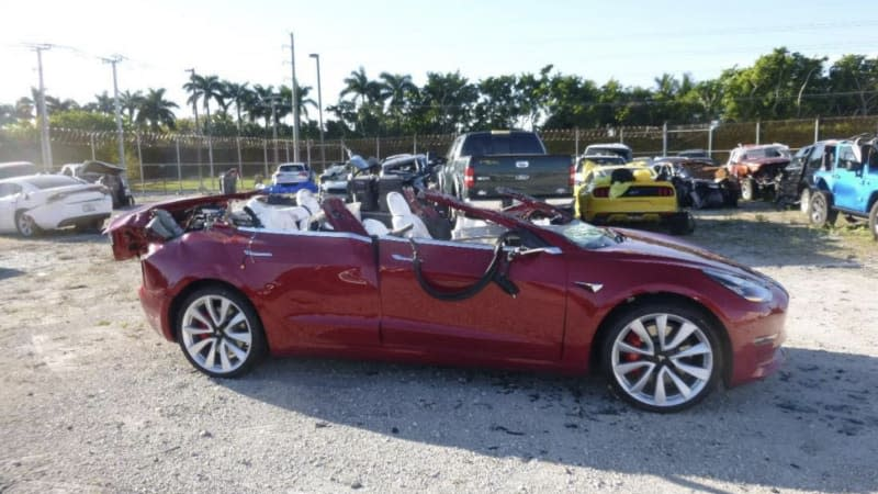 NTSB: Autopilot was in use before Tesla hit semitrailer in