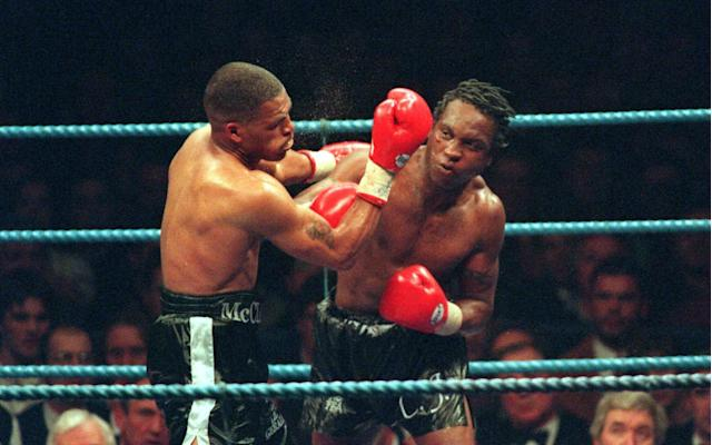 Known as The Dark Destroyer Nigel Benn ruled the super-middleweight division towards the end of his career in the 1990s - Getty Images Fee