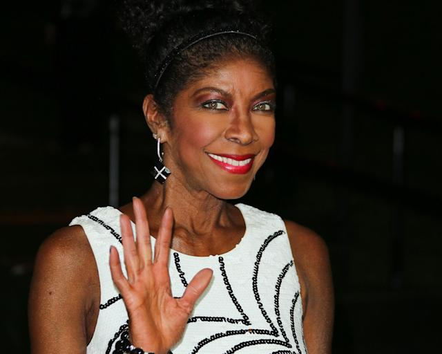 Natalie Cole (pictured in 2014, the year before her death) was speculated to be a contestant on the U.K. version of <em>The Masked Singer</em>. (Photo: Paul Archuleta/FilmMagic)