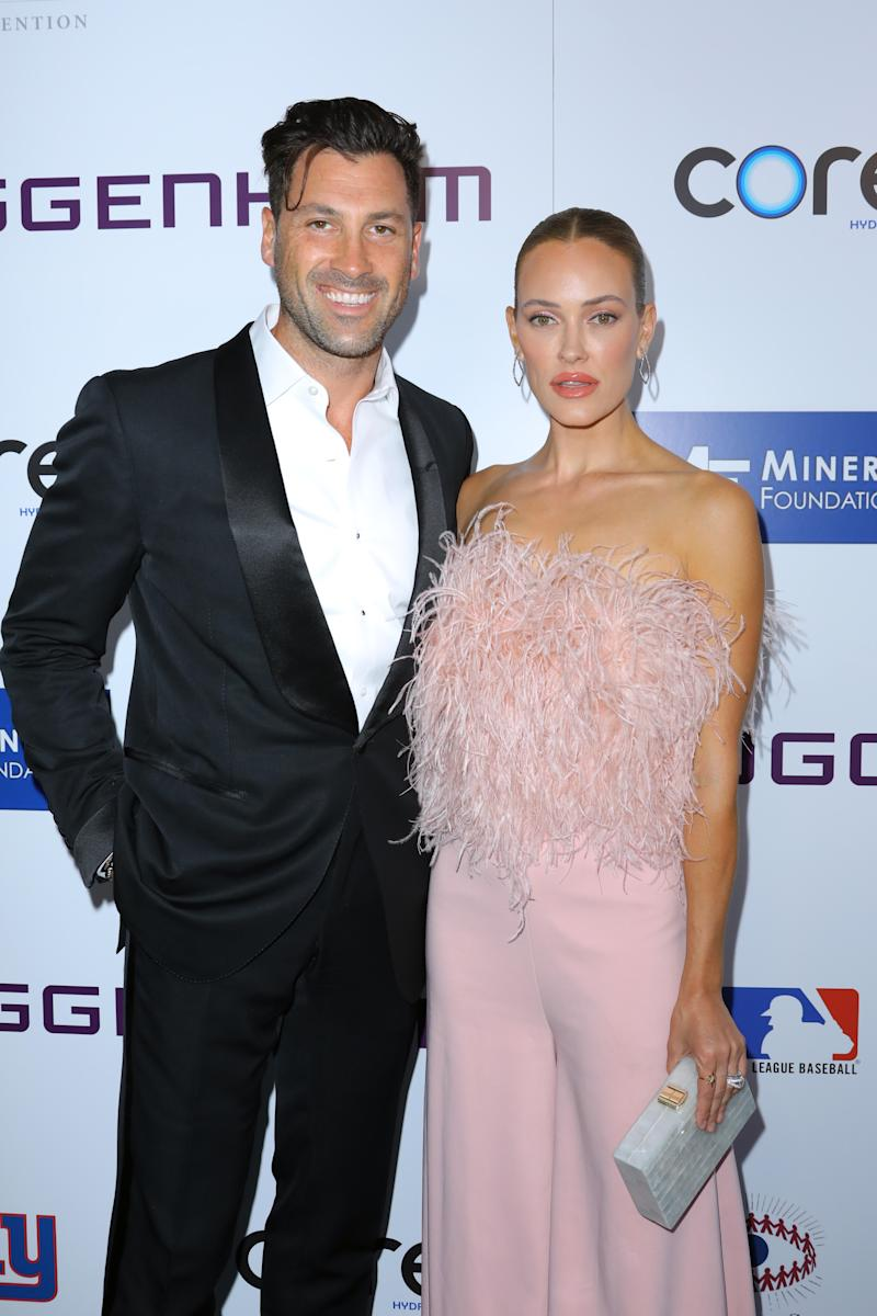 BEVERLY HILLS, CALIFORNIA - SEPTEMBER 21: Maksim Chmerkovskiy and Peta Murgatroyd attend The Brent Shapiro Foundation for Drug Prevention Summer Spectacular Gala at The Beverly Hilton Hotel on September 21, 2019 in Beverly Hills, California. (Photo by JC Olivera/Getty Images)