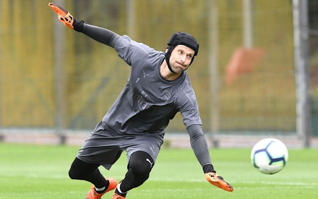 Arsenal goalkeeper Petr Cech backed by Unai Emery to keep his place against Chelsea despite shaky start to season