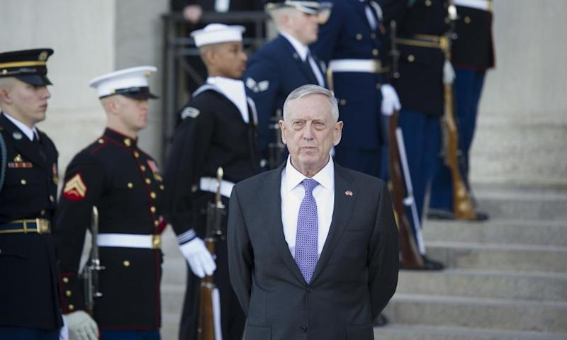 James Mattis' statement hinted that the scandal could go beyond the Marines.