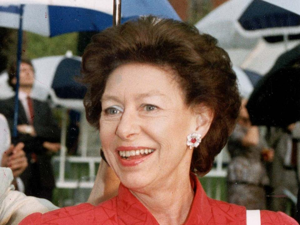 <p>Princess Margaret pictured in 1992</p>Rex Features