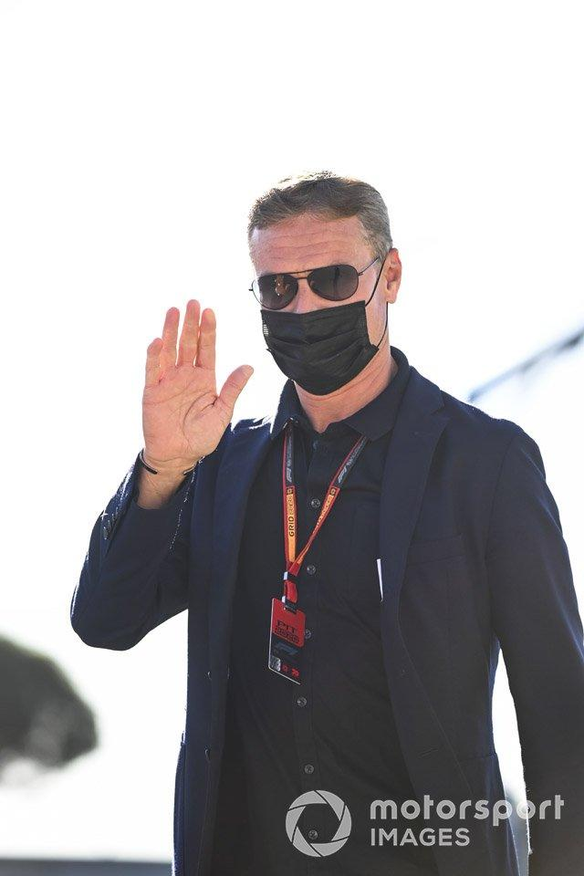 "David Coulthard, Presenter <span class=""copyright"">Mark Sutton / Motorsport Images</span>"