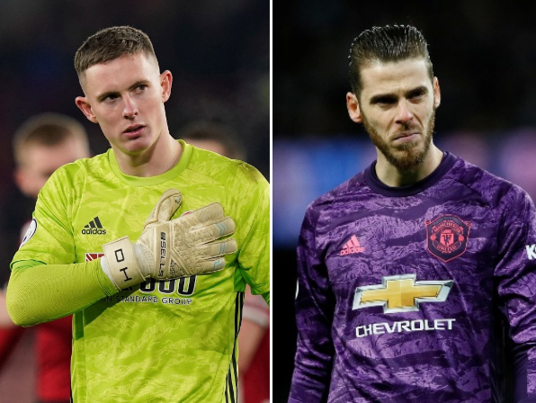 Sheffield United goalkeeper Dean Henderson is on loan from Manchester United: Reuters