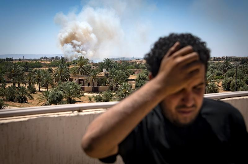 The internationally recognised government in Libya is trying to ensure it has support from Western countries