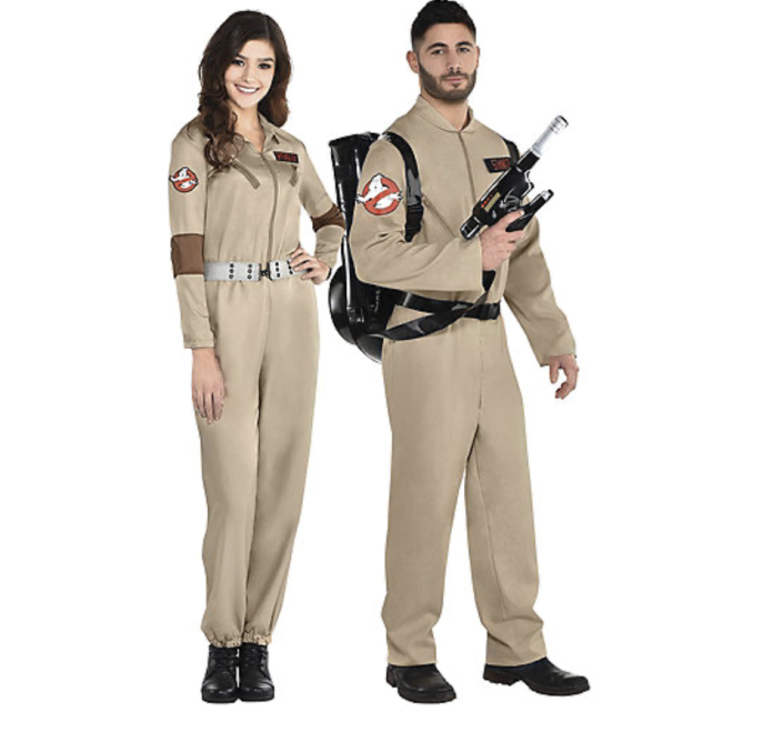 """<p>partycity.com</p><p><strong>$49.99</strong></p><p><a href=""""https://www.partycity.com/adult-ghostbusters-couples-costumes-G842687.html?cgid=couples-costumes"""" rel=""""nofollow noopener"""" target=""""_blank"""" data-ylk=""""slk:BUY IT HERE"""" class=""""link rapid-noclick-resp"""">BUY IT HERE</a></p><p>Now, if <em>GhostBusters</em> is more your thing, you'll want to get your hands on this classic <em>Ghostbusters </em>costume! The photo opps practically make themselves.</p>"""