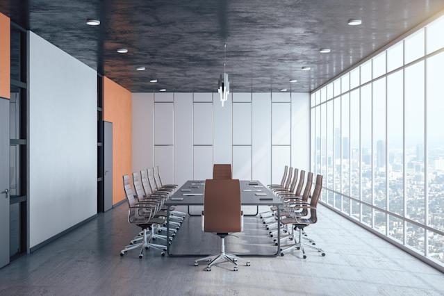 Business boardrooms still lack diversity. (Getty)