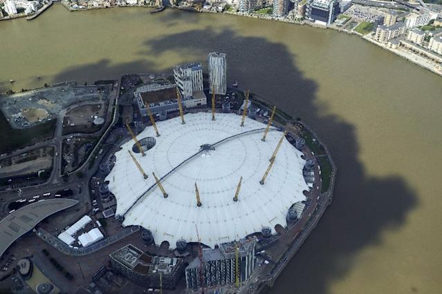 London's O2 arena has staged the ATP Finals since 2009 (AFP Photo/NIKLAS HALLE'N)