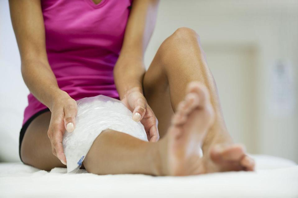"<p>This could be a sign of a blood clot or cellulitis, a common and potentially serious bacterial skin infection, Dr. Cheema says. Call your doctor ASAP. ""You want to make sure you get appropriate medication like blood thinners or antibiotics quickly,"" she says.</p>"
