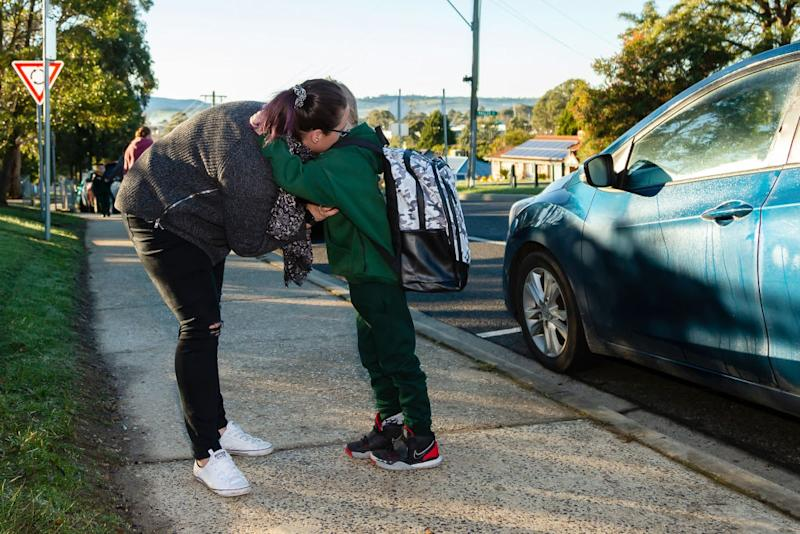 Mum earns $433 for school drop-off, pick-up. Source: Getty