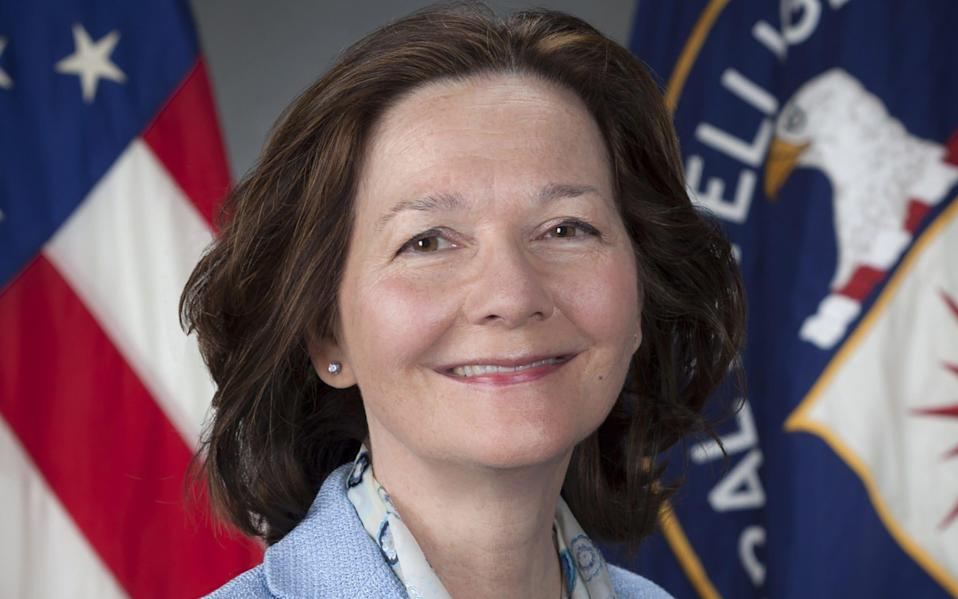 Gina Haspel is the first female CIA director - AFP
