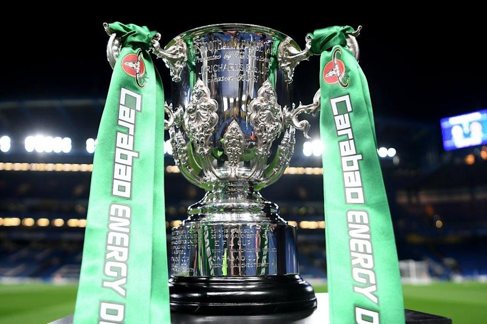 Manchester City are bidding for a record-setting fifth successive Carabao Cup triumph  (Getty Images)